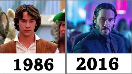 Każde ŁOŁ! Keanu Reevesa w porządku chronologicznym (1986 - 2016)