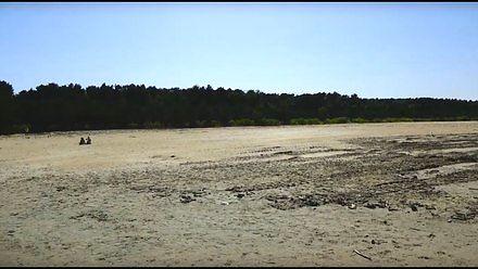 Szeroka plaża w Gdańsku Brzeźnie - ostatnie szlify