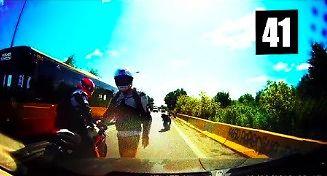 """Idioci na motocyklach popisują się swoją """"ynteligencjom"""""""
