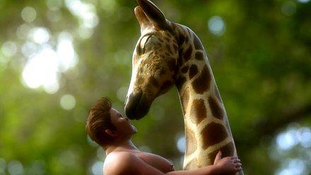 Surrealistyczna wizja miłości Tarzana i latającej żyrafy