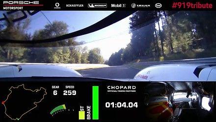Rekord toru Nordschleife w Porsche 919 Hybrid Evo