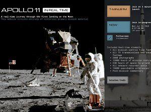 Poczuj się jak 50 lat temu - Apollo 11 w czasie rzeczywistym