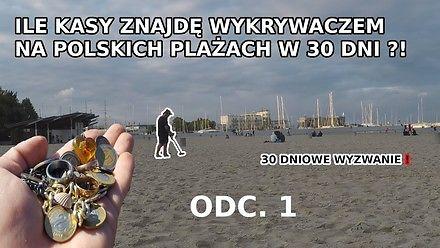 Ile kasy można znaleźć na plażach z wykrywaczem metalu?