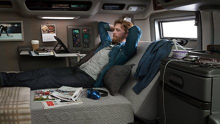 Komfort nowych ciągników siodłowych Volvo