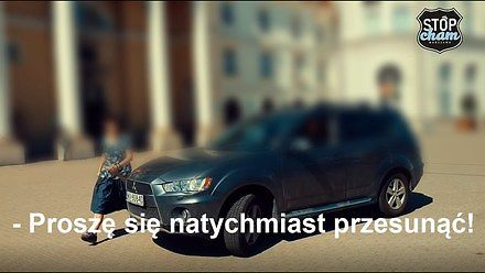 Proszę się natychmiast przesunąć - Stop Cham Warszawa