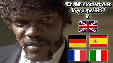 Pulp Fiction w 5 językach