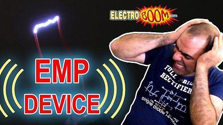 Mehdi robi sobie krzywdę… znaczy robi urządzenie EMP