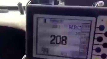 Kamaz wyprzedza przy 200 km/h