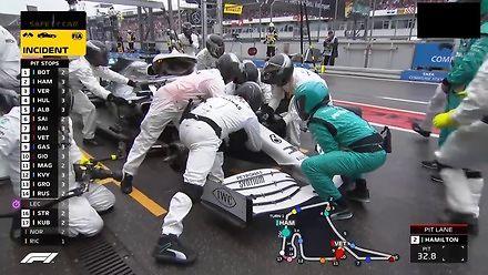 Mistrzowski pit stop Lewisa Hamiltona w GP Niemiec 2019