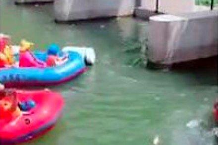 Rafting w Chinach jest bardzo popularny