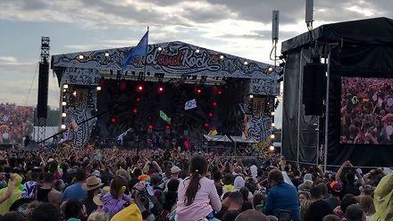 Pogo z Majką Jeżowską na Pol'and'Rock Festival 2019