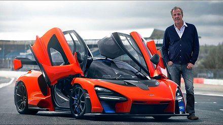 Jeremy Clarkson testuje supersamochód McLaren Senna