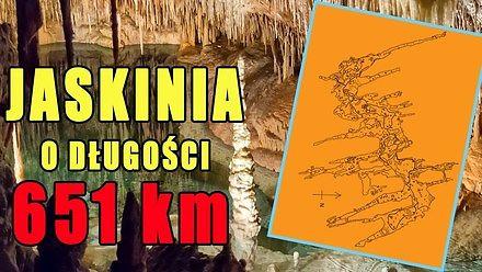 Kawiak Jones prezentuje 6 najdłuższych jaskiń świata