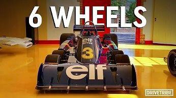 Jak działał 6-kołowy bolid F1 - Tyrrell P34
