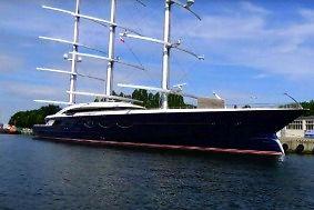 Black Pearl jacht wart 200 mln dolarów w Gdańsku