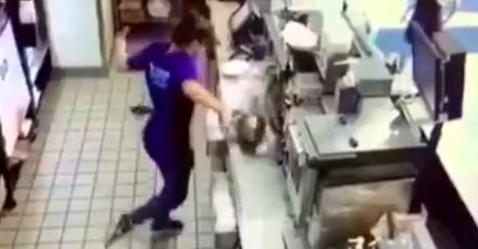 Kuchenna mistrzyni parkietu