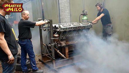38,8-litrowe czołgowe serducho... obudzone po 28 latach