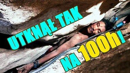 Zbierał guano w jaskini i utknął na 100 godzin w szczelinie