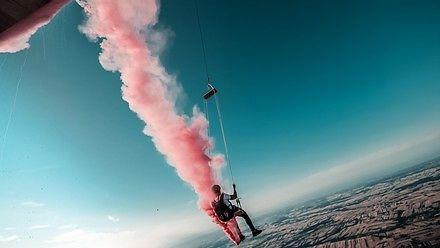 Wielka huśtawka z balonu na ogrzane powietrze!