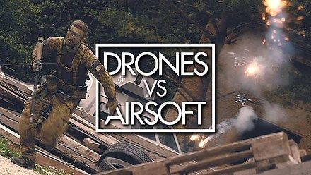 Drony vs Airsoft
