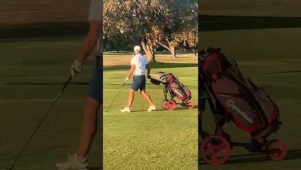 Kiedy partia golfa staje się walką o życie