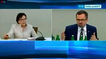 Ewa Kopacz dzielnie próbuje odpowiedzieć na proste pytanie przed komisją sejmową
