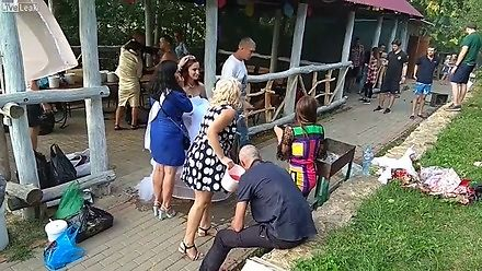 Rosyjskie wesele pełne emocji i dziwnych akcji