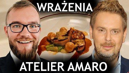 Jak wygląda kolacja w Atelier Amaro? Ile kosztuje?