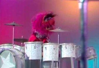 Buddy Rich i pojedynek perkusyjny w Muppet Show