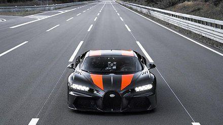 Bugatti Chiron pojechał ponad 490 km/h