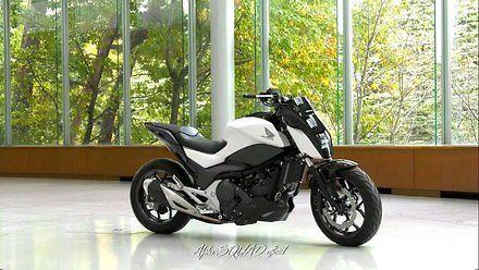 Samobalansujacy motocykl od Hondy