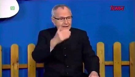 Ksiądz tłumaczy dzieciom w TV Trwam, dlaczego PiS jest najlepszą partią na świecie