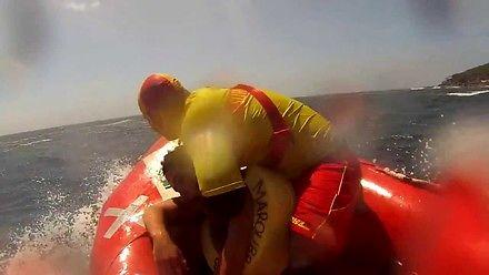 Akcja ratownika wodnego - uratowany nastolatek