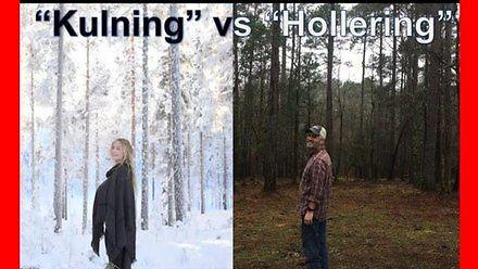 Szwedzki tradycyjny biały śpiew vs rednecki tradycyjny biały śpiew