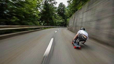 Ponad 110 km/h po szwajcarskich górach