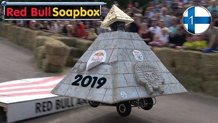 Tegoroczny wyścig mydelniczek Red Bull z Finlandii