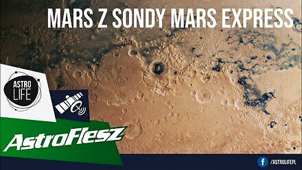 Niesamowity obraz Marsa z orbitera Mars Express