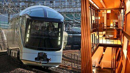 Shiki-shima, czyli superluksusowy japoński pociąg