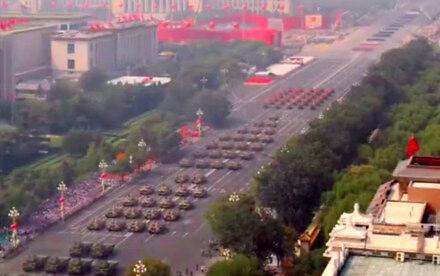 Chińska defilada z innej perspektywy