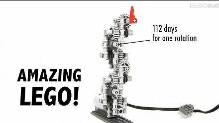 Bijące serce, fontanna czy różne pojazdy, czyli co można zbudować z LEGO Technic