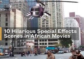 Helikoptery i wybuchy, czyli efekty specjalne w afrykańskich filmach