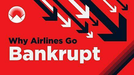 Dlaczego linie lotnicze upadają?