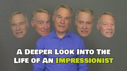 Człowiek impresjonista i AI (deep fake)