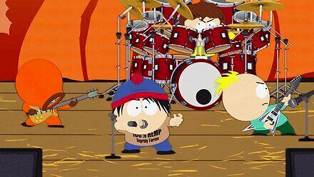 Kenny, Stan, Timmy i Butters założyli kapelę death metalową