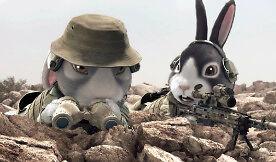 Japońska animacja o walecznych królikach