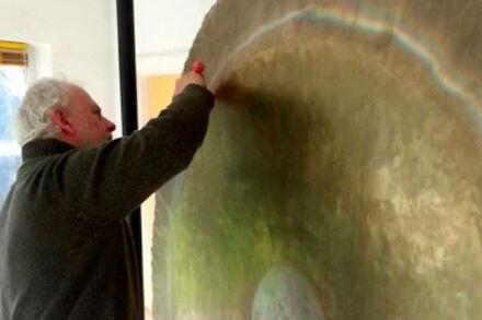Testowanie wielkiego gongu