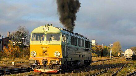 8 lat filmowania pociągów w 4 minuty