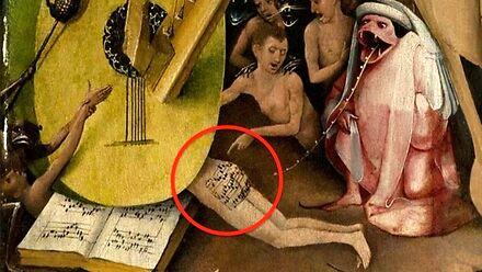 Średniowieczny malarz ukrył nuty na czyimś tyłku i teraz możecie posłuchać tej melodii