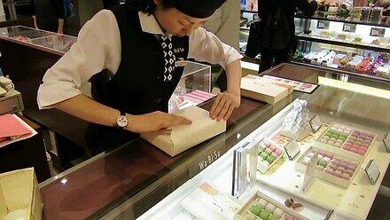 Pakowanie prezentu po japońsku