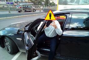 Kierowca BMW w zderzeniu z rzeczywistością